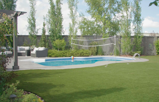 Watch The Landscape Artist on the CTV television show designing and landscaping Calgary yards
