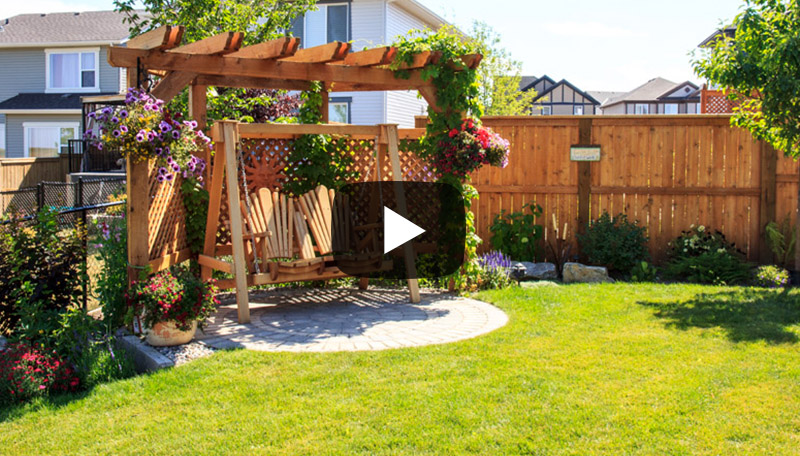 Watch before and after photos from this landscaping project in Silverado, Calgary