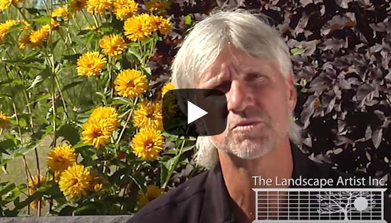 Meet The Landscape Artist, the award winning Calgary Landscaping company