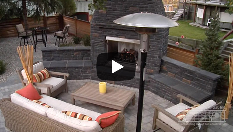 Outdoor kitchen and fireplace ideas for your outdoor living experience