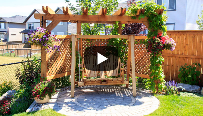 Design ideas for your small garden landscaping to create your outdoor living space
